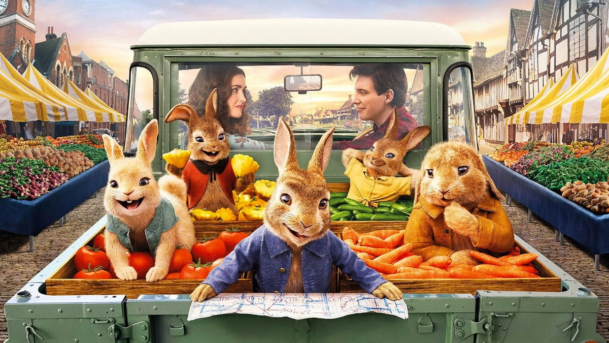 First trailer for the hybrid film Peter Rabbit 2 - The Runaway