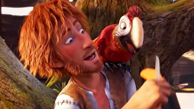 Robinson Crusoe in prima tv stasera su Italia1